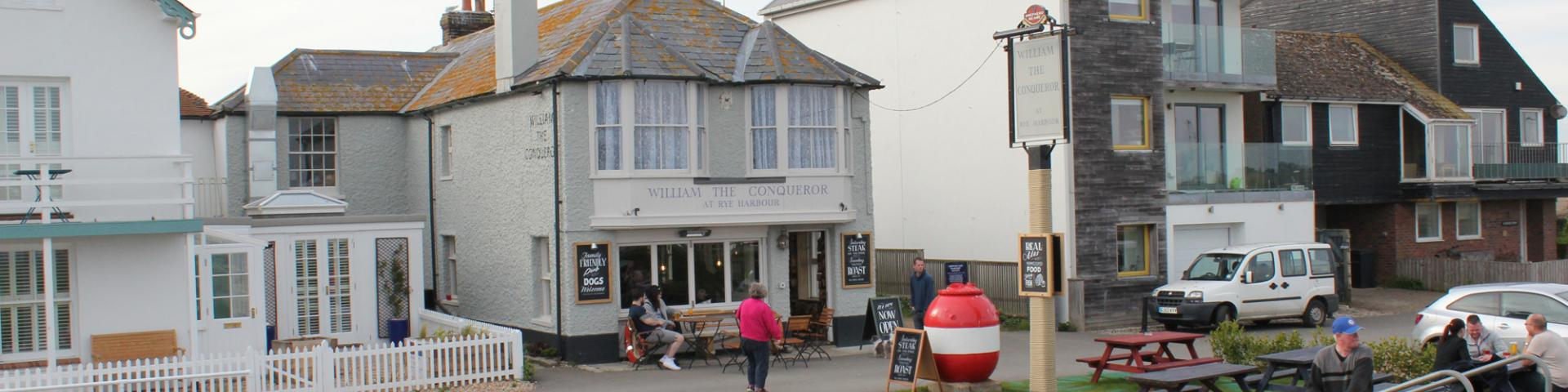 William the Conqueror, Rye